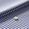 The Gingham Check(brown-blue white) 生地