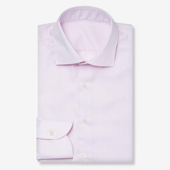 The Dressy Herringbone(pink) シャツ