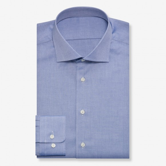 The Rich Oxford(royal blue) シャツ
