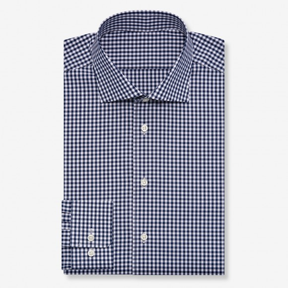 The Gingham Check(black) シャツ