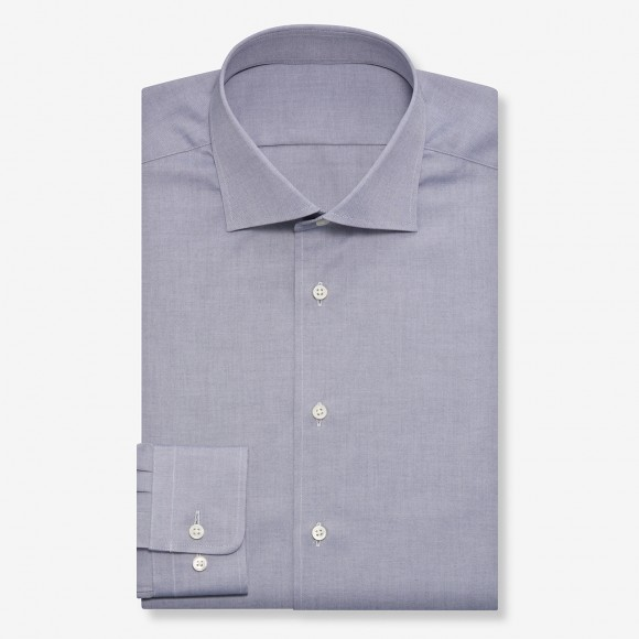 The Rich Oxford(gray) シャツ