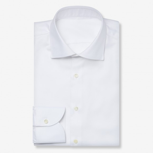 The Dressy Twill(white) シャツ