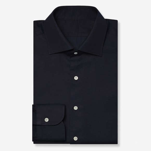 The Classic Dobby(navy) シャツ