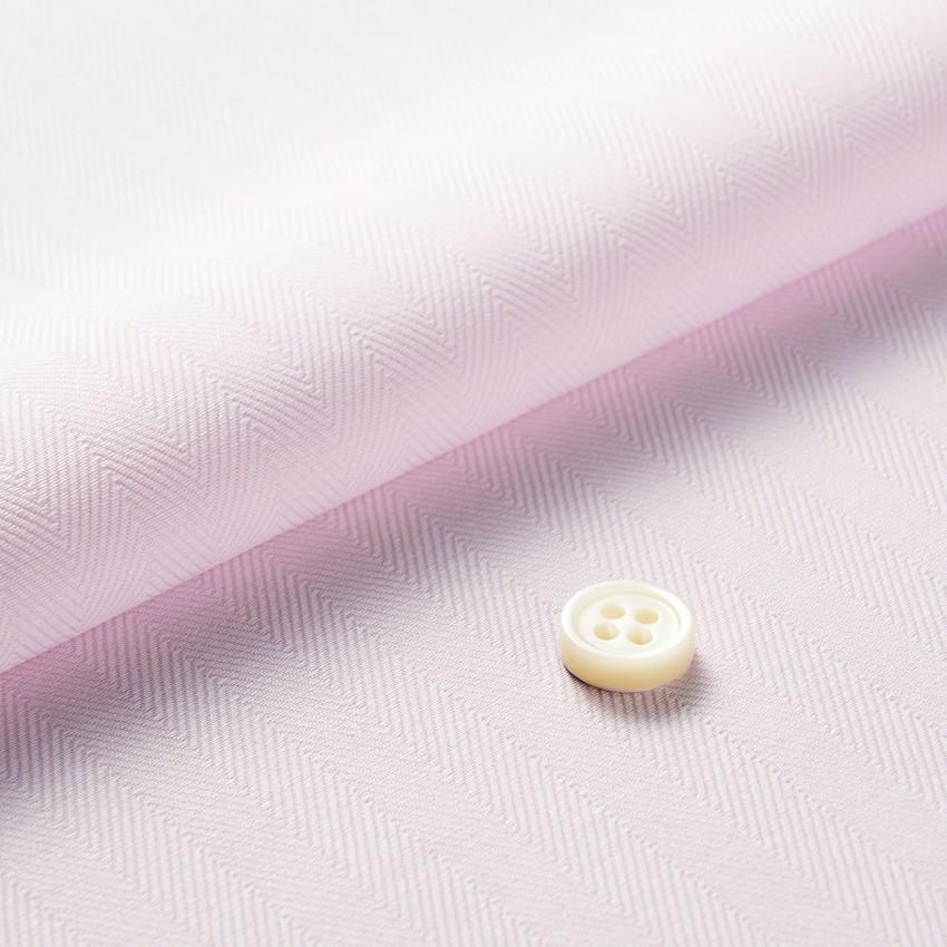 The Dressy Herringbone(pink) 生地