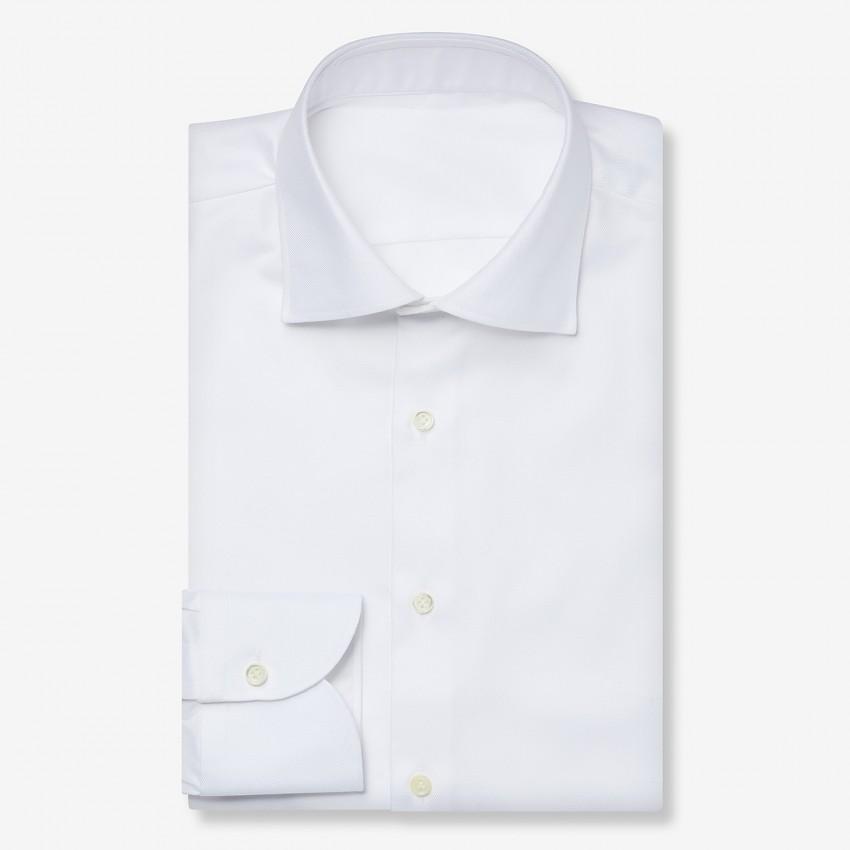 The Dressy Twill(white) シャツ